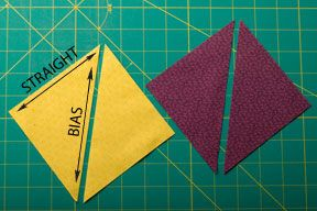 Intro to Half Square Triangles - Quilting Tutorial from ConnectingThreads.com