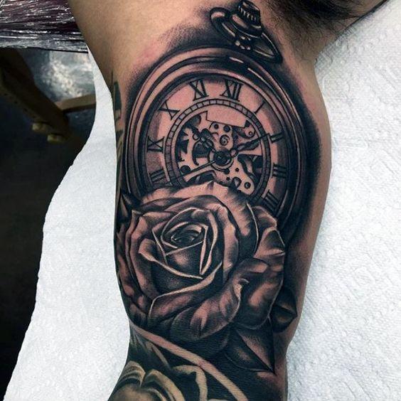 Tattoo Brady S Tat Pocket Watch Design Tattoos