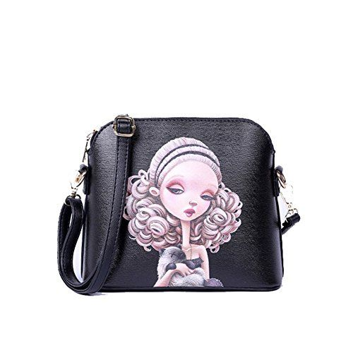 Teeena Handbags Ms Fashion Cute Cartoon(C7)     You can get additional  details at the image link.  ad46722c34b43