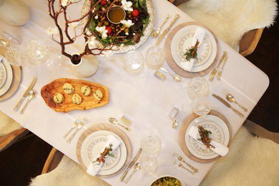 Do the opposite of what is expected with a Winter White Table. Shop more:   Related posts: Blanca Fiesta (12.2) It's all about the Details! (9) Kid's Table (6.9) A Thankful Table (6.3)