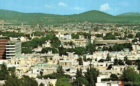 Fotos de Puebla, Puebla, México: Panorámica de Puebla desde el Cerro de San Juan