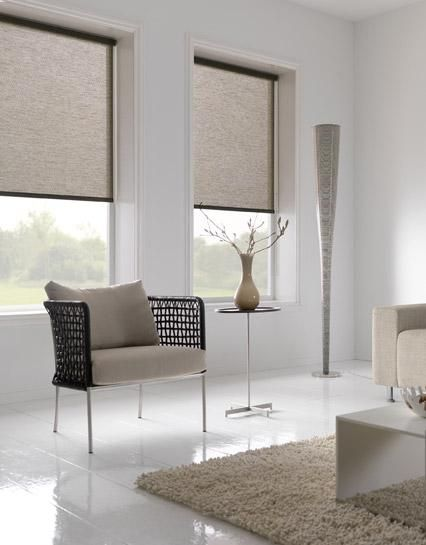 Rolgordijn woonkamer bruin rolgordijn raamdecoratie zonwering - Eenvoudig slaapkamer model ...