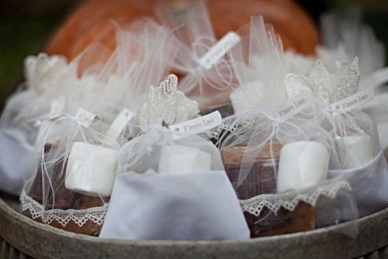 DIY S'mores #weddings #favors #desserts