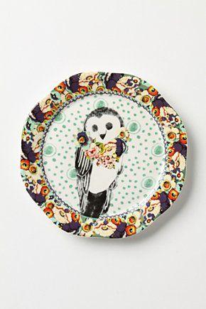 Zoological Gardens Dessert Plate