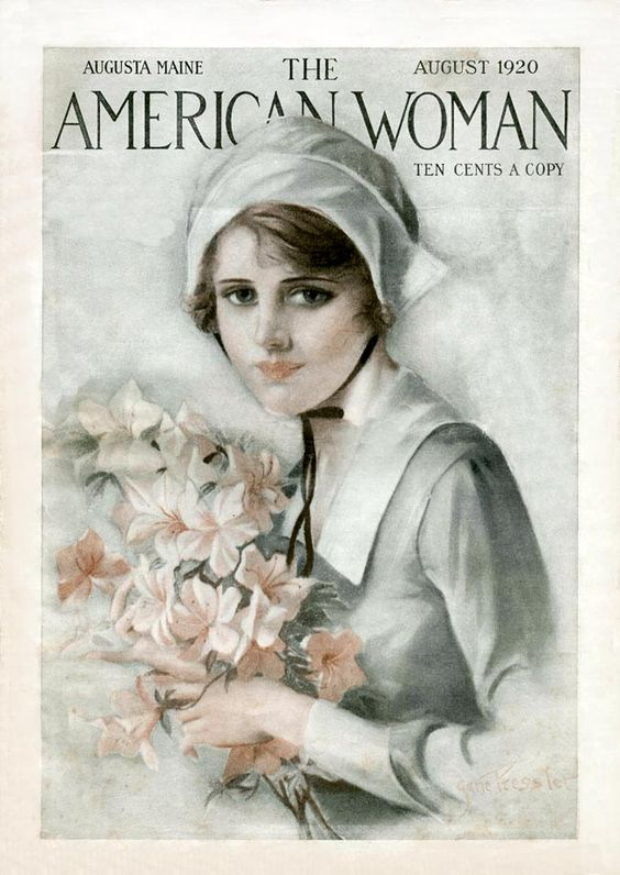 Vintage copy of The American Woman.