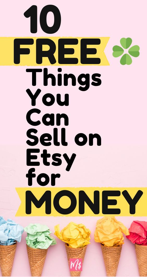 10 Things You Can Get For Free To Sell On Etsy Etsy Course Merry For Money Diy Gifts To Sell Things To Sell Diy Jewelry To Sell