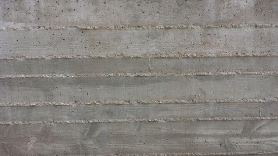 #boardformed #concrete #site #exterior #wall #finish