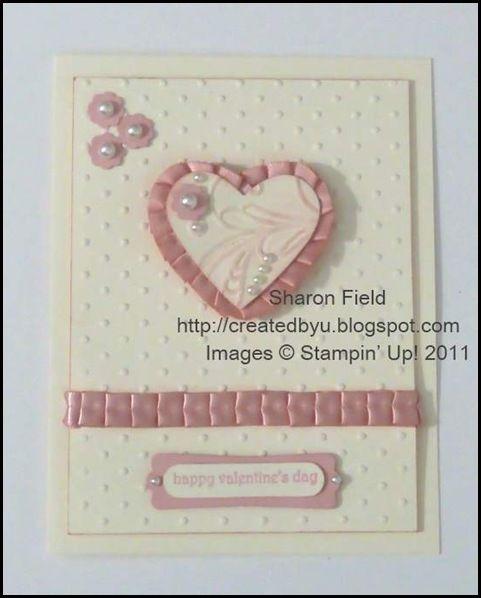 Vintage Valentine: Craft Cards Hearts, Cards Stampin, Valentine Cards, Day Heart Cards, Holiday Valentines Day Heart, Stampin Cards, Valentines Cards, Vintage Valentine, Cards Valentine S