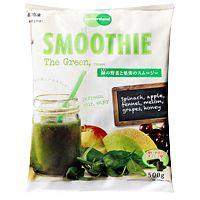 手軽に健康になれそう!業務スーパー「緑の野菜と果実のスムージー」