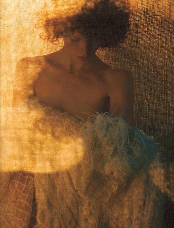 Vogue Italy Editorial October 2013 - Julia Hafstrom by Camilla Akrans