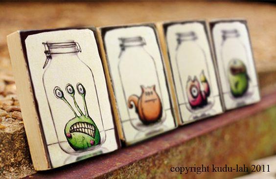Things in jars.
