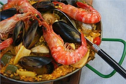 Rick Stein's Seafood Paella | Recipes | Pinterest | Rick Stein, Paella ...