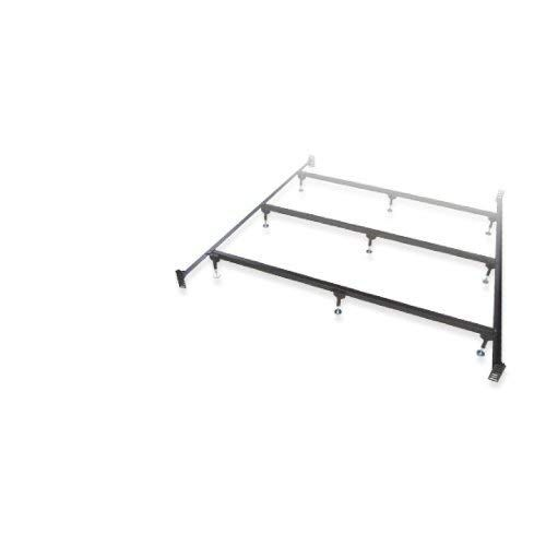 Glideaway King Heavy Duty Bolt Up Steel Waterbed Frame 3 Cross Supports Waterbed Frame Adjustable Legs Water Bed