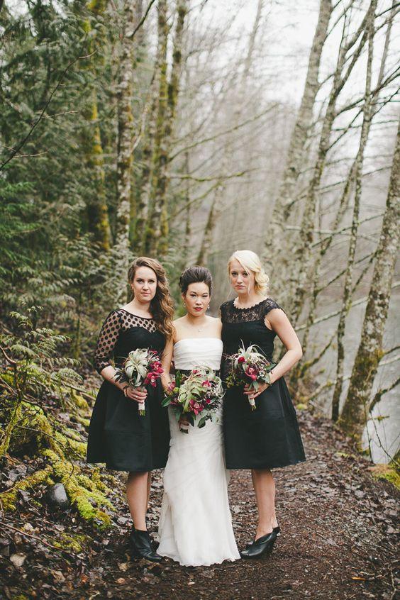 Pacific Northwest Rainforest Wedding
