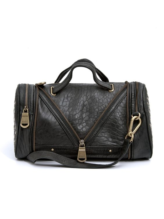 Lola Leather Satchel - HANDBAGS - ACCESSORIES - Marc Root Catalog #AM30