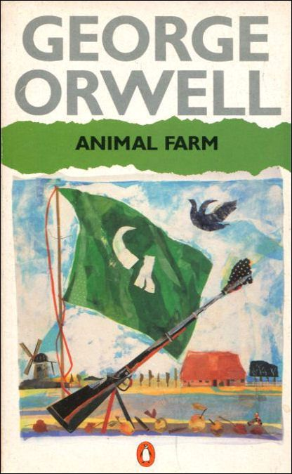 A summary of the novel animal farm by george orwell