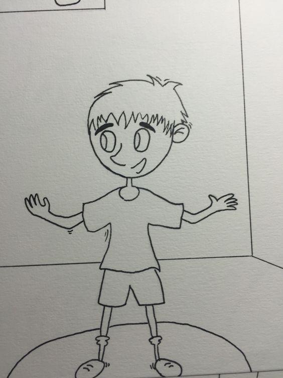 Niño dibujo