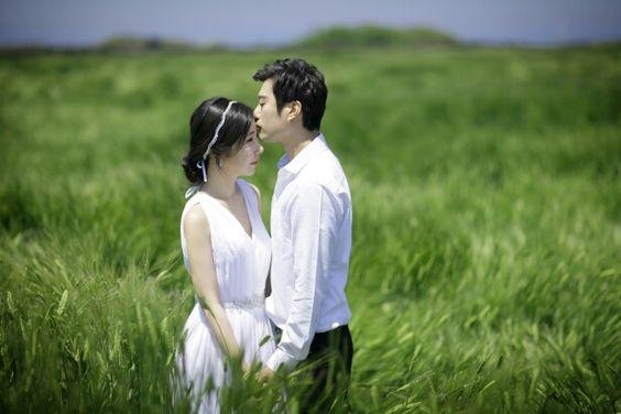 Wedding photo in Jeju Island abarleyfield