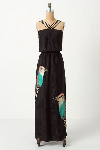 Corvida Crossed Maxi Dress #anthropologie