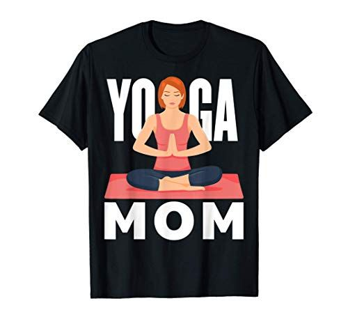 Yoga Maman M/éditation Entra/înement Exercice Conditionnement T-Shirt