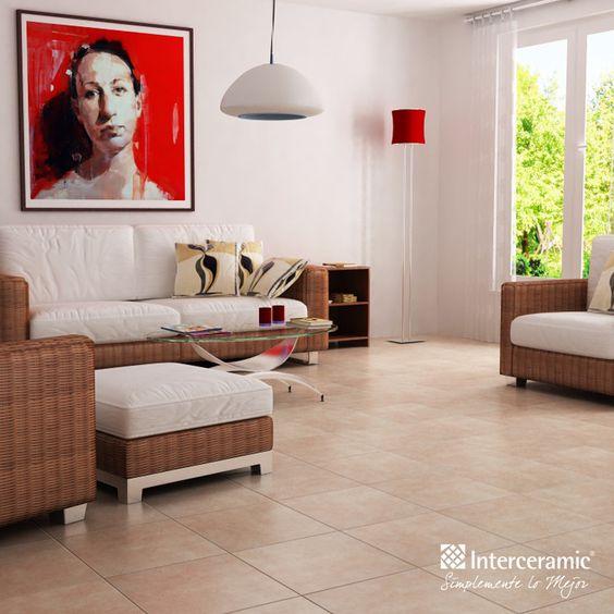 Para lograr una sencilla decoraci n r stica recubre las for Decoracion piso blanco