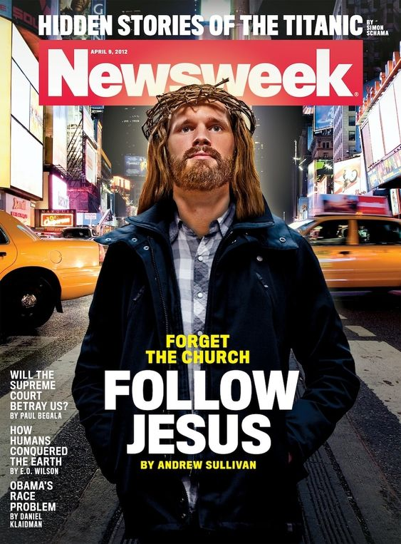 Newsweek Dresses Jesus Up As A Hipster