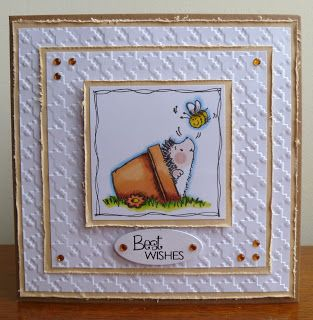 Stamps, Pencils and Paper!: Penny Black Saturday #198 ~ No Patterned Papers....