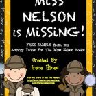 Free Sample: 6 pages from my Miss Nelson Is Missing Unit