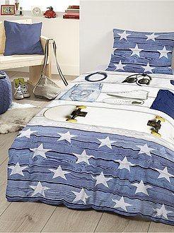 ropa de cama infantil juego de cama estampado uskateu kiabi