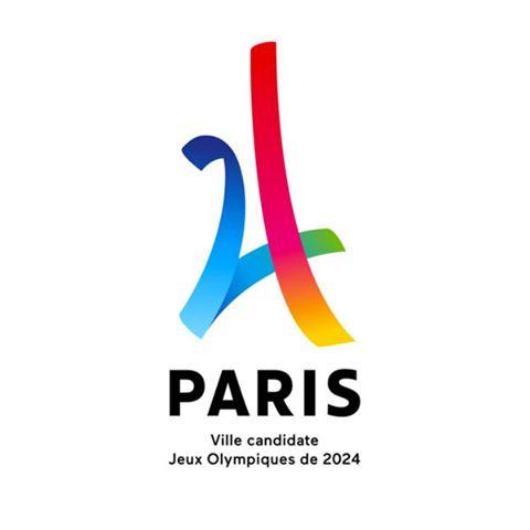 巴黎申辦2024奧運標誌「24」譽為艾菲爾鐵塔的摩登詮釋   Foot Work︱ 走思客設計圖誌