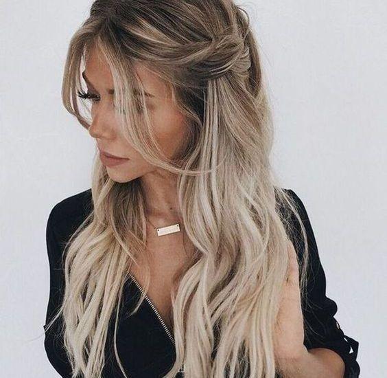 Trendige Frisuren 2020 Fashion Woche Ausgefallene Frisuren Trendige Frisuren Langhaarfrisuren