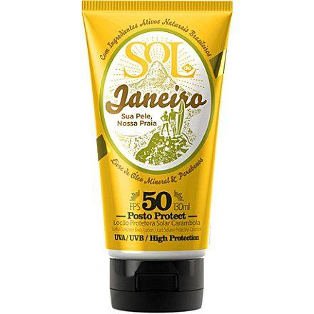SOL DE JANEIRO Posto Protect Starfruit Sunscreen body lotion SPF 50 #virtualsuitcase