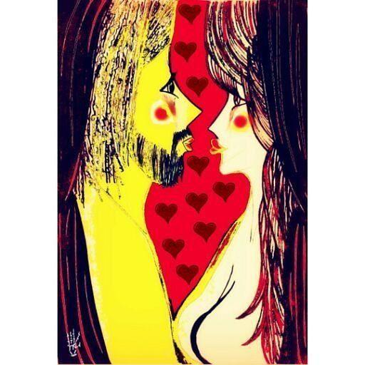 Tu Rastro en Mi - final edición  Serie Luna Roja. #sun #moon #edicion #digitaledit #love #lovely #mirada #traditionalart  #drawning  #ilustracion #illustration  #conceptual #drawn #dibujos #manoalzada #dibujoalapiz #art #color #colorfull #inspiration #lovelife