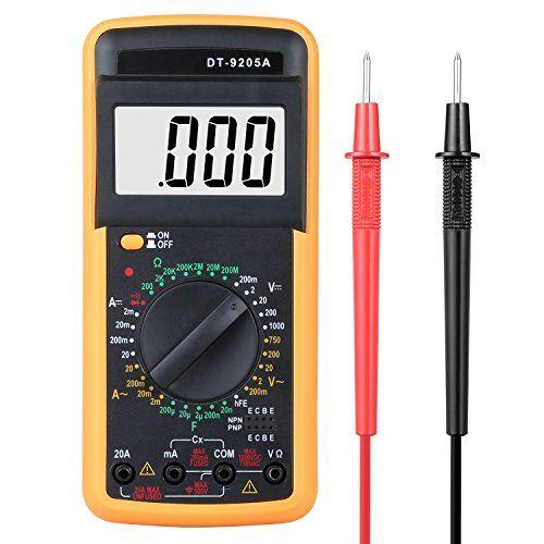 Multímetro Digital Vegkey Dc Ac Voltaje De Corriente Amp Https Www Amazon Es Dp B074h5jb5b Ref Cm Sw R Pi Awdb T1 X Bujccb9b1yq Diodo Corriente Digitales