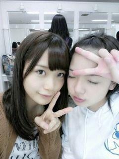 乃木坂46 (nogizaka46) Fukagawa Mai (深川 麻衣) and Wada Maaya ~ maimai why so cute /)^O^(\ ♥ ♥ ♥ ♥ ♥