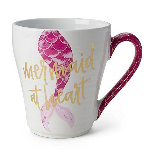 Ceramic Reusable Coffee Tea Mugs Cute Novelty Mermaid Hot Coffee Tea Cups Mermaid Off Duty Mugs Mermaid Mugs Tea Mugs