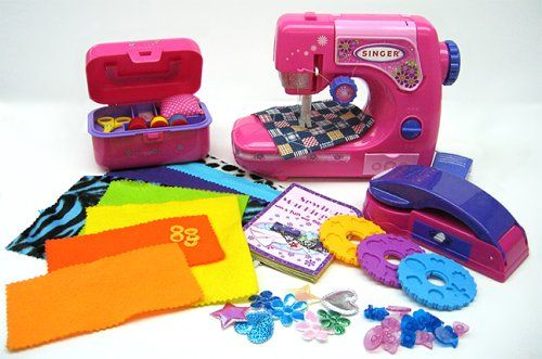 New Singer in hot pink plastic | Toy & Tiny Sewing ...