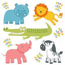 dibujos de animales de la selva grandes  Buscar con Google  La