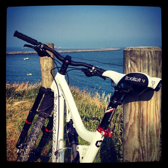 Along the coast in Normandy... (Santa Cruz Nickel)