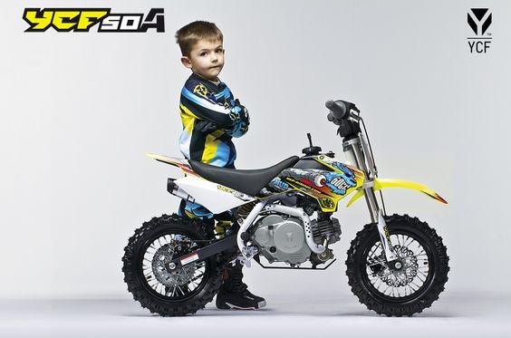 YCF 50A 2014 #MiniWheels #PitBike #ycf #moto #2014 #enfants
