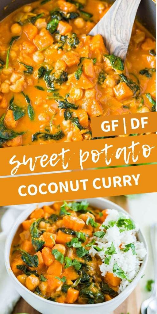 Creamy Sweet Potato Curry Vegan What Molly Made Recipe In 2020 Sweet Potato Curry Vegan Sweet Potato Curry Curry Recipes Vegetarian
