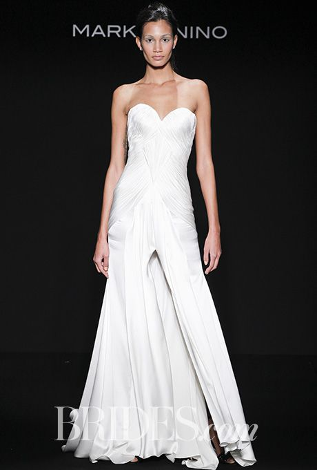 Brides: Mark Zunino for Kleinfeld Wedding Dresses - Fall 2016 - Bridal Runway Shows - Brides.com