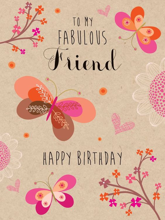 52 Best Birthday Wishes for Friend with Images Birthdays Happy