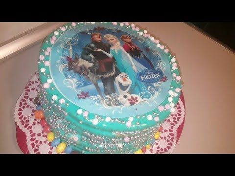 تزين كيك تورتة عيد ميلاد للأطفال فكرة جديدة مذهلة Youtube Desserts Cake Birthday Cake