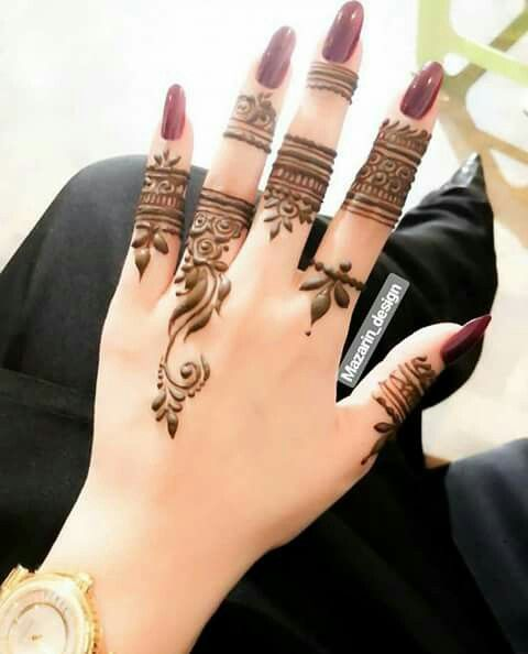 Henna Mehndi Designs For Fingers Finger Henna Designs Mehndi