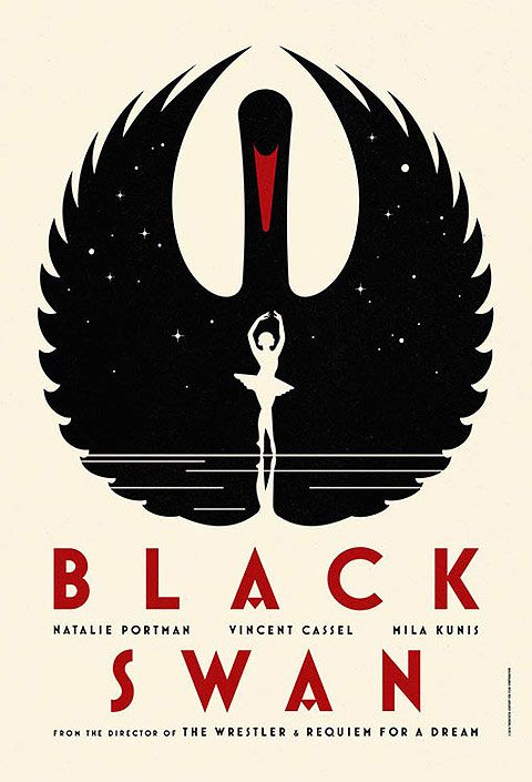 La Boca Limited Edition Official Black Swan Posters