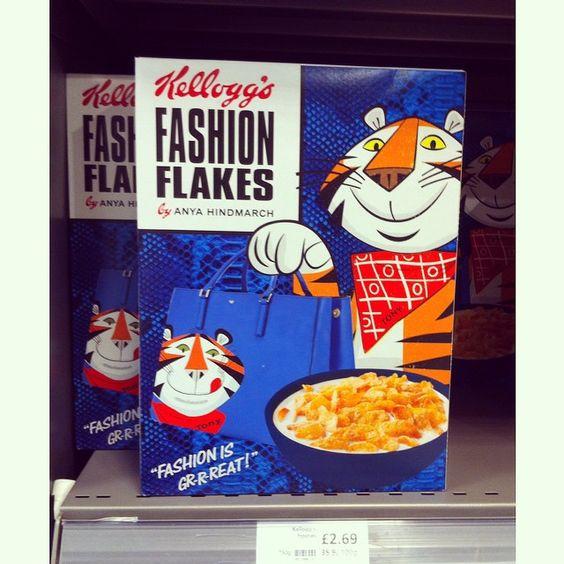 Anya Hindmarch Kellogg's Frosties Fashion Flakes