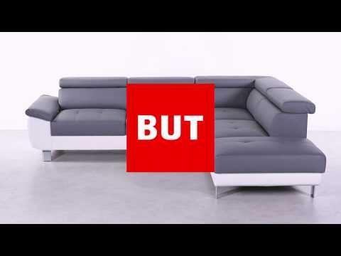 Mobilier Salons Et Sejours Canapes Canape D Angle Reversible William Ii Pu Blanc Gris Canape Angle Mobilier Salon Canape