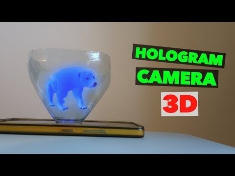 9 Turn Your Smartphone Into A 3d Hologram Diy Hologram Projector Youtube Phone Projector Smartphone Projector 3d Hologram