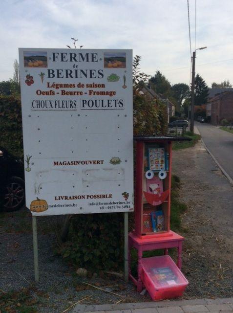 Boite à livres Villers-la-Ville